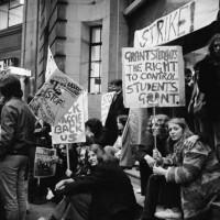 Studenti manifestazione